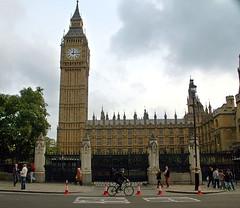Parliament (EmperorNorton47) Tags: autumn england london tower fall clock digital photo unitedkingdom overcast parliament bigben parliamentsquare noon elizabethtower seatofgovernment