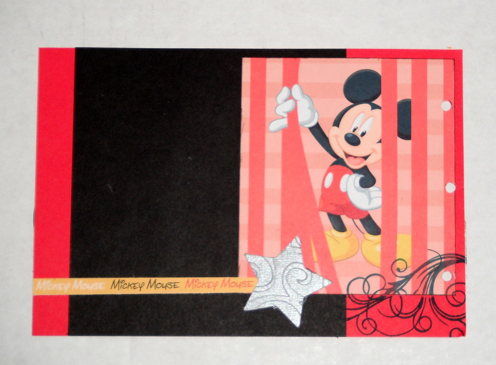 The Worlds Best Photos Of Mickey And Scrapbooking Flickr Hive Mind
