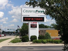 Signarama Fond du Lac, WI | Electronic Message Center | Citizens First