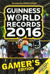 Guinness World Records 2016:  Gamer's Edition (Vernon Barford School Library) Tags: world new school game records computer reading book video high library libraries internet reads computers books systems games system guinness read paperback videogames gaming cover online junior covers bookcover middle electronic vernon edition recent bookcovers reference nonfiction paperbacks gamers gamesystem 2016 barford electronicgames softcover gamingsystem vernonbarford softcovers gamersedition minecraft 9781910561096