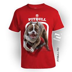 PITBULL-RD (squareteesbdg) Tags: dog square 3d pitbull kaos anjing binatang