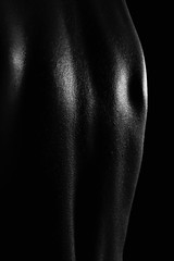 (Alain ) Tags: lighting light man male guy texture studio naked nude back model pieces skin nu body lumire sensual nackt dos corps lumiere mann sensuality hombre olivier peau eclairage mec modele masculin sensualit
