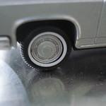 TOMICA LIMITED VINTAGE LV-42b 1/64 MITSUBISHI DEBONAIR (Silver)