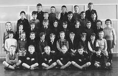 St Johns, Brent Road, Lanarkshire, Scotland (theirhistory) Tags: uk school girls boys shirt children shoes group tie skirt class jacket gb jumper form wellingtonboots wellies blazer pupils