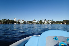 Disney's Yacht Club Resort (myfrozenlife) Tags: trip travel vacation usa lake holiday america boat us orlando unitedstates florida olympus disney disneyworld tough tg2 yachtclubresort