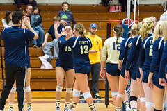 2016-10-14 Trinity VB vs Conn College - 0190 (BantamSports) Tags: 2016 bantams college conncollege connecticut d3 fall hartford nescac trinity women ncaa volleyball camels