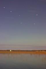 Big Dipper (mazzmn) Tags: bigdipper sky night fall water lake
