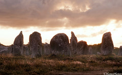 Un Grand Mystre... (yohannhamonic) Tags: menhir menhirs stone mystre mystique carnac alignement sunset sunrise sun soleil shoot symbolebreton sky lgende bretonne celte celtic celtique yohannhamonic landscape leverdusoleil leverdujour levdujour