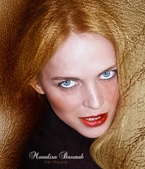 Monalisa Basarab (Diandra D'Angelo) Tags: monalisa basarab actrice actress actrita lolys photography robert loliceru artist illustration portrait face blue eyes attitude atitudine mai may 12 2012 bucharest romania celebrity graphic editor art work mistery woman beautiful wild people