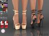 ::ROC:: Lace Up Platform (ROC FASHION) Tags: roc roscee sl secondlife shoes footwear heel platform lace up maitreya slink tmp belleza