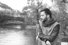 Untitled (Karsten Fatur) Tags: bw blackandwhite portrait model malemodel dof depthoffield fall autumn river fashion gay lgbt queer queerart ljubljana slovenija slovenia europe travel adventure explore