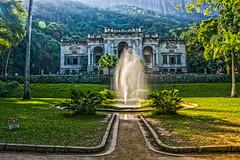 DSC_3662_HDR (sergeysemendyaev) Tags: 2016 rio riodejaneiro brazil    corcovado trilhadocorcovado  hiking     parquelago trilha building   fountain  architecture nikon