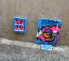 Installation by Nite Owl [Paris 2e] (biphop) Tags: europe france paris streetart installation nite owl niteowl