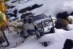 Ford F-350 6 door 6wd 30 (My Scale Passion) Tags: ford f350 meng monogram losi micro mini crawler scale rc modeling custom snow snowrun crawling climbing expedition northpole southpole truck double dual dually duallie 6door 10wd 10x10 125 124 miniz overland landcruiser build