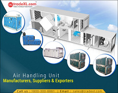 List of Manufacturers, Suppliers, Exporter and Traders of Air Handling Unit in India (TradeXL Media Pvt. Ltd.) Tags: air handling unit tradexl manufacturer manufacturers supplier suppliers exporter exporters