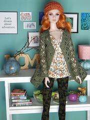 Autumn days (Levitation_inc.) Tags: fashion doll dolls ooak fashions royalty nuface fr fr2 poppy parker etsy levitation autumn fall clothes handmade eden lilith