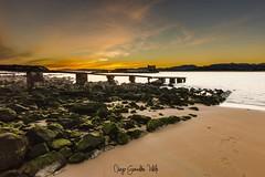 amanecer-santander-7 (diegogonzlezvilda) Tags: landscape nature coast sky cloud sun beach cantabria santander spain