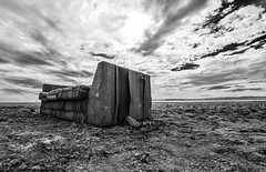 (algaimaging) Tags: sky clouds forgotten couch shoreline water sea ocean seat comfort abandoned white black blackandwhite monochrome eastjesus saltonsea salvationmountain slabcity ghosttwon