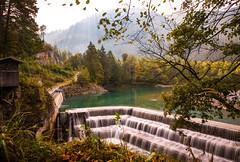 waterfall (Vivien J-Dora) Tags: bume allgu waterfall wasserfall nature fall autumn longexposure herbst lechfall langzeitbelichtung ndfilter allgu bume