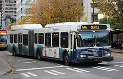 Sound Transit (So Cal Metro) Tags: artic articulated articulatedbus bendybus newflyer de60lf sound soundtransit pugetsound seattle