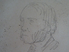 MANET Edouard - Tte d'Homme aux Favoris (drawing, dessin, disegno-Louvre RF11971) - Detail 1 (L'art au prsent) Tags: drawing dessin disegno personnage figure figures people personnes art painter peintre details dtail dtails detalles 19th 19e dessins19e 19thcenturydrawings 19thcentury detailsofdrawing detailsofdrawings croquis tude study sketch sketches douardmanet douard manet louvre portrait ttedhommeauxfavoris tte head homme man face favoris profil profile pose model dessins