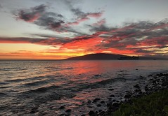 Lanai Sunset (Thanks for over 1.5 Million Views!) Tags: lanai hawaii iphone7 iphone7plus