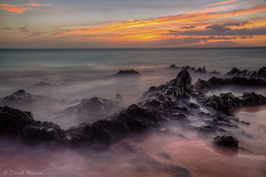 Maui Sunset (sierrasylvan) Tags: adobe adobebridgecc2017 adobelightroomcc2015 adobephotoshopcc2017 canon canonefs1585mmf3556isusmlens canoneos50d filters cokin cokinzprofilterholder hoya hoyahdcircularpolarizingfilter lee leefilter9nd ocean pacificocean photomatixpro5 hawaii maui kihei charlieyoungbeach mauicounty sea tripod manfrotto manfrotto190xprobtripod manfrottobasicpantilthead vello freewavepluswirelessremotecontrolshutterrelease autumn beach black blue clouds coast fall gray island landscape nature orange outdoor pink reflection rocks sand seaside shore silhouette sky sunset twilight water white yellow