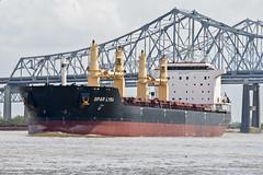 Spar-Lyra (Ray Devlin) Tags: spar lyra ship bulk carrier shipping marine mississippi river downtoen downtown new orleans