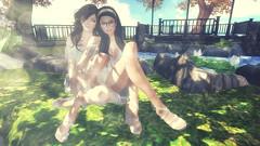 Sisterhood (Marion Falworth) Tags: secondlife virtual online game avatar 3d sisters 7deadlyskins aviglam oleander catwa maitreya slink ison
