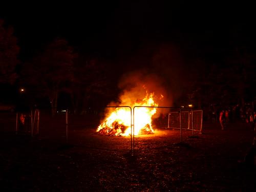 Ballater bonfire