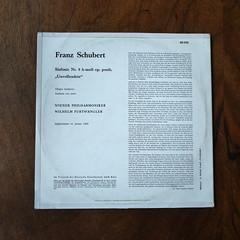 "Backside Schubert - Symphony No.8 ""Unvollendete Unfinished"" - Wiener Phil., Wilhelm Furtwangler, HMV Electrola E 60 550, WDLP 603, Jan. 1950, 10 inch (Piano Piano!) Tags: lp record album disc langspielplatte grommofoon plaat 12 inch art cover sleeve hulle disque vynil vinyl backsideschubertsymphonyno8unvollendeteunfinishedwienerphil wilhelmfurtwangler hmvelectrolae60550 wdlp603 jan1950 10inch"