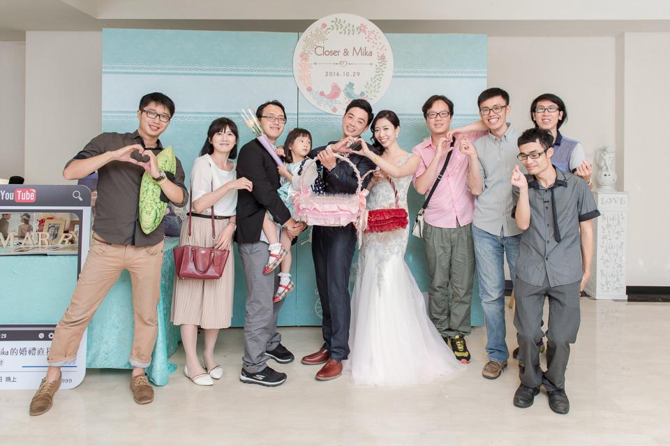 台南婚攝 婚禮紀錄 情定婚宴城堡 C & M 177