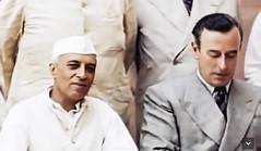Nehru with Mountbatten (Doc Kazi) Tags: india pakistan history partition independence mountbatten nehru jinnah liaquat baldev kripalani radcliffe din mohammad munir judges burma