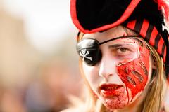 Arrr! (k.jessen) Tags: pirate pirata zombiewalk zombiewalksp zombiewalksp2015 zombie zumbi blood sangue brains miolos saopaulo sopaulo brasil brazil