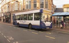 FJ55BXL, Teignmouth, 25/11/16 (aecregent) Tags: teignmouth 251116 countrybus dennisdart caetano nimbus slf mpd fj55bxl