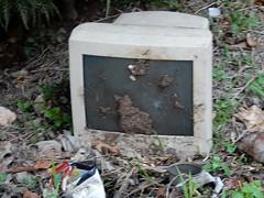 Dirty Monitor (mikecogh) Tags: espiritusanto santo luganville monitor durt computer screen junk rubbish discarded