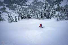Mazama Ridge Skiing (Jason Hummel Photography) Tags: mountrainiernationalpark rainier joshhummel paradise mazamaridge powder skiing ski backcountryskiing