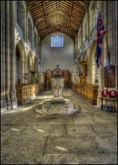 Fotheringhay Church Interior 5 (Darwinsgift) Tags: fotheringhay church northamptonshire nikkor pce 24mm f35 d mf ed hdr photomatix nikon d810 interior architecture