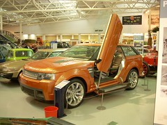 2004 Range Rover Range Stormer concept (quicksilver coaches) Tags: landrover rangerover rangestormer heritagemotorcentre gaydon
