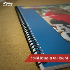 Types of Book Binding-Spiral Bound or Coil Bound (SirSpeedyIndore) Tags: bookbinding services coilbound spiralbound sirspeedy