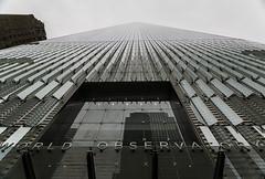 One World Trade Center (the Freedom Tower) (vcostanz) Tags: oneworldtradecenter freedomtower worldtradecenter tradecenter skyscraper tallest tallestskyscraperwesternhemisphere freedomtowernyc nyc lookingup newyorkcity lowermanhatton 911memorial oneworldobservatory
