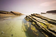 VERDE CRISTALINO (Dream Photography by margamorqui) Tags: sea seascape landscape mar paisaje galicia playadelascatedrales dreamphotography filtrodensidadneutra bigstopper margamorqui