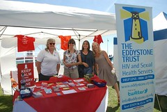 """The Eddystone Trust at Plymouth Pride 2015 - Plymouth Hoe • <a style=""""font-size:0.8em;"""" href=""""http://www.flickr.com/photos/66700933@N06/20442452488/"""" target=""""_blank"""">View on Flickr</a>"""