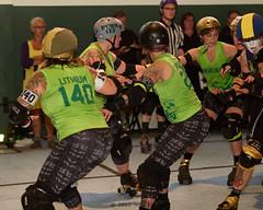 shevil_vs_belles_L3500967 1 (nocklebeast) Tags: ca usa rollerderby rollergirls richmond skates bayareaderbygirls badg sfshevildead richmondwreckingbelles cranewaypavilion va0001991072 effectivedateofregistrationaugust152015 va1991072