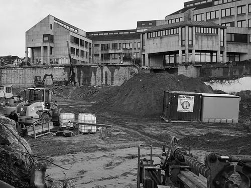 Baustelle Stadthalle II