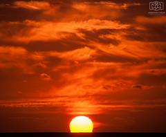 Red Sky At Night... (Jonathan Huelin) Tags: sunset sky weather clouds nikon dusk horizon jersey channelislands d3000