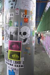 Cola Aqui! stick here! Tour 2015 - Mau Street Art (colaaqui) Tags: streetart pasteup sticker stickerart lambelambe mau artederua arteurbano arteurbana colaaqui stickhere tour2015 colacolante