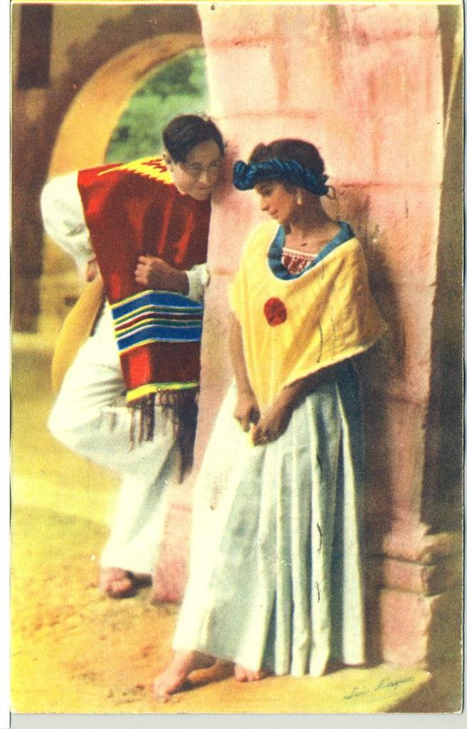Mexican Postcard Luis Marquez Teyacapan Tags Woman Vintage Mexico Antique Photographs Postcards Puebla