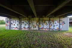 Betes x Clobs (dogslobber) Tags: street new art graffiti orleans nola graff betes clobs