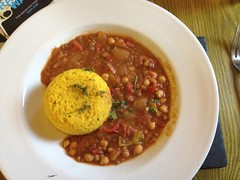 Dinner at Inversnaid Youth Hostel (felibrilu) Tags: day2 food inversnaid rowardennantoinversnaid inversnaidyouthhostel